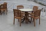 Универсален стол от пластмаса за басейн, за външно използване