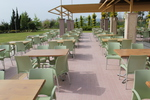Градински пластмасови столове за кафене