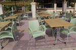 Градински стол стифиращ, произведен от пластмаса