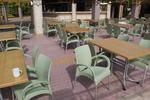 Пластмасов стол за басейн, за бар