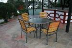 Прахово боядисани основи за маси, за вътрешно и външно използване