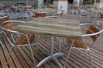 Плотове за маса за открито от верзалит