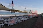 Шезлонг за голям плаж за лятно заведение