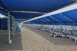Шезлонги за голям плаж с текстилен