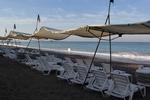 Шезлонг за плажна ивица за заведение