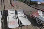 Шезлонг за плажна ивица за хотел