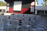 Универсален стол от пластмаса на промоция, за външно използване