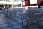 Пластмасов стол за плаж, за бар