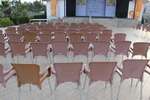 Пластмасови столове за плаж, промоция