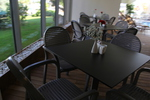Пластмасови столове с ниска цена за кефенета