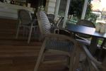 Външни пластмасови столове за басейн