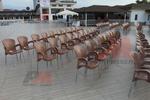 Градински пластмасови столове на промоция
