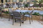 Градински столове за лятно заведение, пластмаса