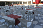Пластмасови столове за лятно заведение, за барове