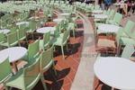 Столове от пластмаса за лятно заведение
