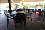 Пластмасова маса за ресторант за кафене