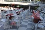 Градински столове за лятно заведение, от пластмаса