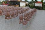 Пластмасов стол за заведение, за бар