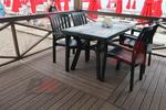 Пластмасови зелени столове за барове