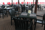 Градински столове за кафене, пластмаса