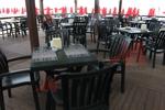 Пластмасови столове за кафене, за открито