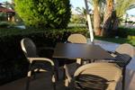 Градински пластмасови здрави столове
