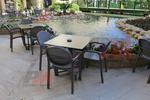 Стол от пластмаса за градина