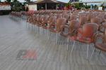 Пластмасови столове за градина, за открито