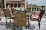 Метални столове за външно ползване с различни визии