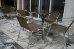 метални мебели-столове за външно ползване