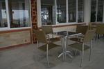 Външни метални столове за ресторанти