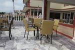 Метален стол за ресторант
