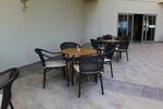 Метални столове за ресторанти с разнообразни размери