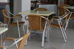 стол от метал за кафене