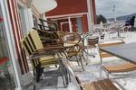 Метални столове за кафене