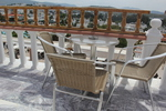 Метални столове,подходящи и за кафене