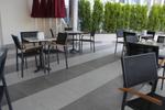Столове,произведени от метал за кафене,различни модели