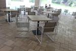 Дизайнерски бази за маса за градина