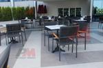 метални мебели-столове за кафене за вътрешна и външна употреба