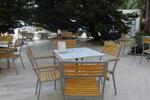 Метални столове за открито заведение с доставка