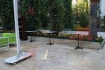 Основа за бар маса от неръждаема стомана за заведение