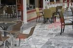 Метални столове за ресторанти с различни седалки