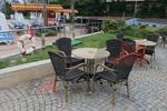 Дизайнерски бази за маси за градини