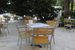 Модерни метални столове за плажове