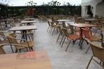 База за маса за хотел за външно ползване