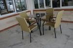 Устойчиви столове от метал за плаж