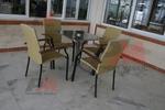 Столове от метал за Вашият плаж