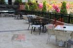 Стол от метал за дома,заведението,плажа,градината
