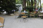 Метални столове за открито заведение с разнообразни размери