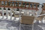 Метални столове за басейни с различни седалки